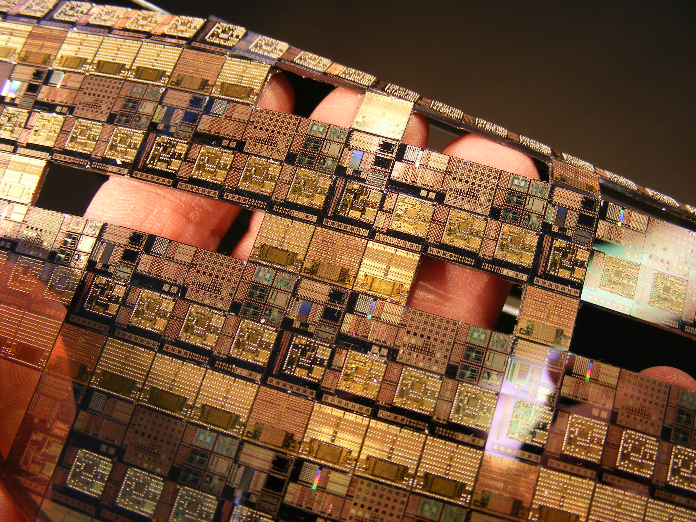 Silicon Wafers - CPU Artworks